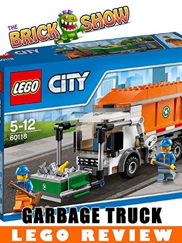 LEGO City Garbage Truck Review (60118) [OV] - City Filme Lego
