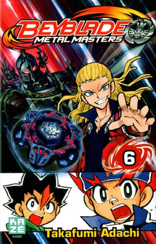 Beyblade Metal Fusion / Masters / Fury Edition simple Tome 6