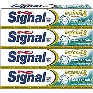 Signal Integral 8 Interdentaire Dentifrice 75 ml - Lot de 4
