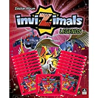 Invizimals Legend 2018 Blister 15 Sobres y álbum (Panini 003598BLIE2)
