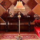JU Stehlampe im europäischen Stil Stehlampe New Classical Post - Modern Beleuchtung Wohnzimmer Schlafzimmer Nachttisch Stehlampen