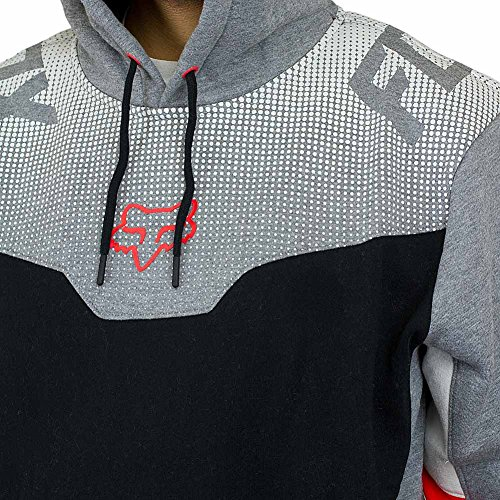 Fox Hoody Rotorized graphite grau Grau