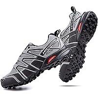 Hitmars Chaussure Trail Homme Imperméables Chaussures de Randonnée Femme Basses Antidérapant Course Trekking Multisport…