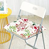 CLG-FLY autunno e inverno spessa tela di cotone lavabile in lavatrice imbottitura cuscino sedile cuscino sedia sedia per ufficio mat,40x40cm,Ting Sakura