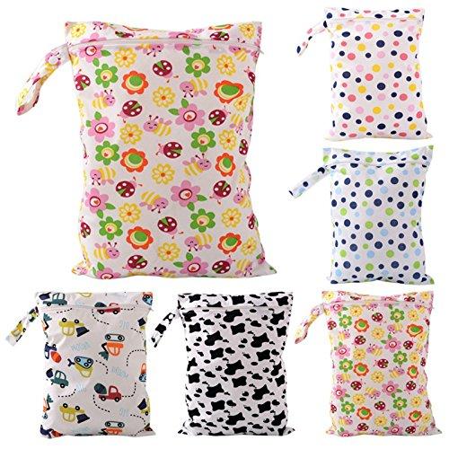 d4ed0ef6b drawihi Agua Densidad Baby Pañales bolsillos cremallera lavable  reutilizable bebé pañal bolsa seca Despacho Color