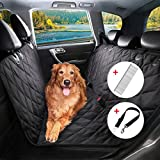 Hundedecke Auto, BRIGHTSHOW Autoschondecken für Hunde Rücksitz, Anti-Rutsch Hunde Autodecke, Hund...