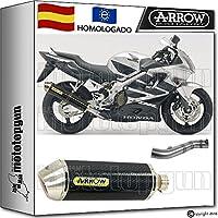 ARROW KIT TUBO DE ESCAPE RACE-TECH CARBONO HOM HONDA CBR 600-F 2003