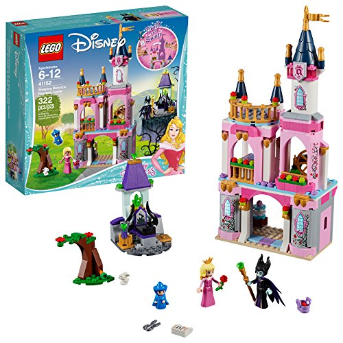 Lego Disney Princess Sleeping Beauty's Fairytale Castle 41152 Building Kit (322 Piece)