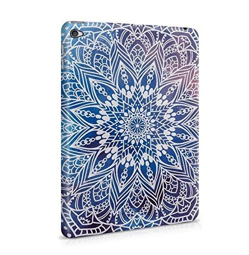 Yoga Weiß Mandala Mantra Relax Dünne Tablet Handy Schutzhülle Hardcase Aus Hartplastik Hülle für iPad Mini 4 Handyhülle Case Cover (Type Snap Fit)