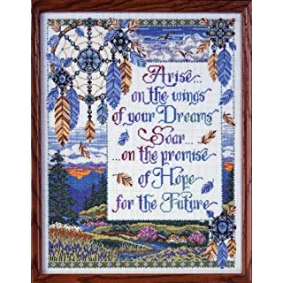 Design Works Arise On The Wings Cross Stitch Kit, Multi-Colour