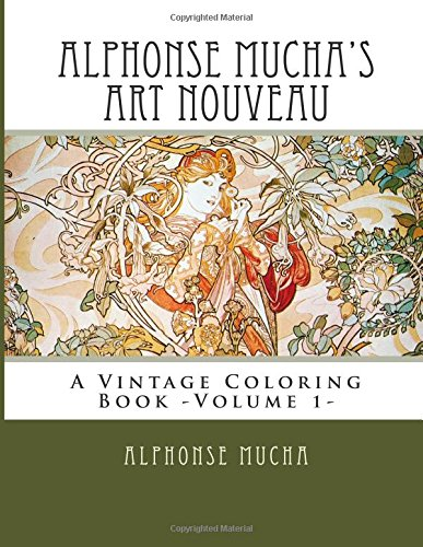 alphonse-muchas-art-nouveau-a-vintage-coloring-book-volume-1