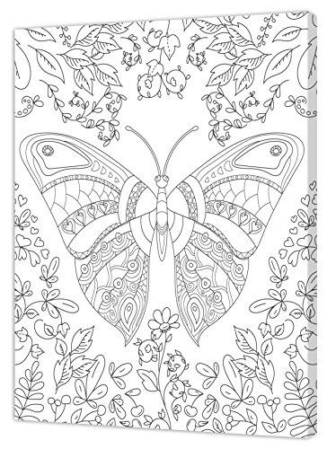 Pintcolor 7160.0- Marco Lienzo Impreso Colorear