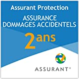 2 ans assurance dommage accidentel pour un caméscope de 80 EUR à 89,99 EUR