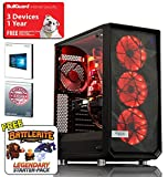 ADMI Meshify Fortnite Gaming PC: AMD FX-8350 Eight Core 4.20GHz CPU, NVIDIA GTX 1060 3GB HDMI Graphics Card, 8GB 1600MHz DDR3 RAM, Seagate 1TB 150Mbps WiFi, Fractal Meshify Gaming Case, Pre-Installed with Windows 10