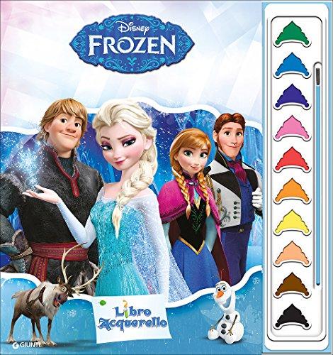 Frozen. libro acquerello. ediz. illustrata. con gadget