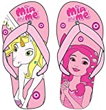 Mia and Me Official Licensed Girls Slippers (US 8/9 (EU 24/25), Pink)