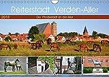 Reiterstadt Verden - Aller (Wandkalender 2018 DIN A4 quer): Die Pferdestadt an der Aller (Monatskalender, 14 Seiten ) (CALVENDO Orte) [Kalender] [Jan 20, 2016] Klünder, Günther