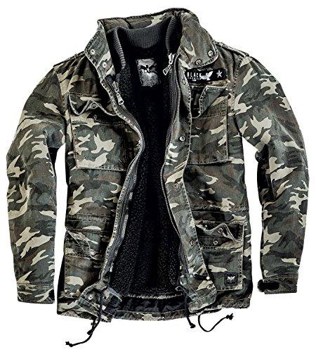 Black Premium by EMP Field Jacket Giacca mimetico XXL