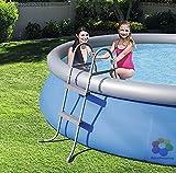 Doppelskala Aufstieg cm.84Für Pools