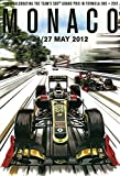 Monte Carlo Monaco grand prix grosser preis 2012 schild aus blech, metal sign, tin sign