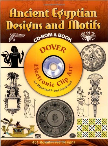 Ancient Egyptian Designs and Motifs (Dover Electronic Clip Art)