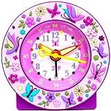 Baby Watch - Réveil enfant - Fille - papillon - Avec méthode d'apprentissage