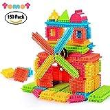 TOMOT 150pcs originalität ihrer erbauer blöcke spielen mit aufbewahrungsbox für kleinkinder kind mädchen jungen kinder (Nicht Mit Der Box)