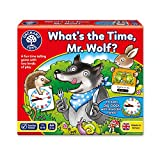 Orchard Toys Lernspiel What's The Time, Mr Wolf