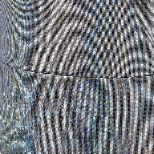 FIRSS-BH Damen Body Pailletten Bodysuit Langarm Elegant Strampler V-Ausschnitt Jumpsuit Overall Basic Playsuit Casual Bluse Sommer Top Unterziehshirt Bodycon Reizwäsche Outfit L - 6