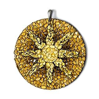 Der Ring der Himmel. Baltischer Bernstein handgefertigt Charme Amulett Spiritual Astrologie
