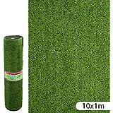 Césped artificial económico para terraza verde plástico - Lola Derek