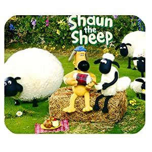 Custom rectangle sheep shaun the non-slip tapis de souris mouse pad pad - 905