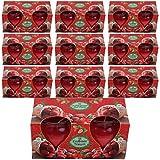 HScandle 20 Duftkerzen Spar-Pack Auswahl: Erdbeer - Traum (10x2er Pack)