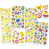 Vorteilspackung Aufkleber zu Ostern - Osterhase Osterei Küken - Sticker Set für Kinder (1Stück)