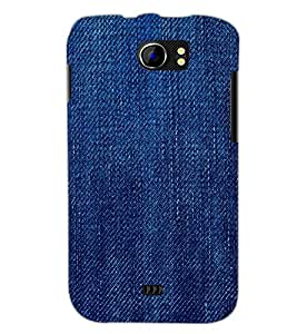 PrintDhaba Denim D-2043 Back Case Cover for MICROMAX A110 CANVAS 2 (Multi-Coloured)