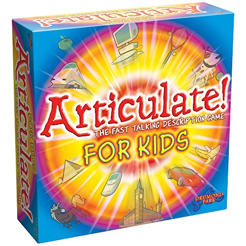 Drumond Park Articulate for Kids - The Fast Talking Description Board Game for Children