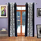 FabBig Polyester Door Curtains (Set of 2...