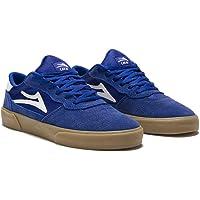 Lakai Cambridge Skate Shoes Trainers Blueberry Suede UK