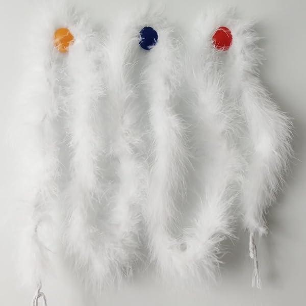 2M Feather Fancy Dress Wedding Party Decor Boa Strip Fluffy Craft Costume