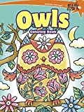 SPARK Owls Coloring Book (Dover Spark: Dover Coloring Books for Children) by Noelle Dahlen (2015-07-15)