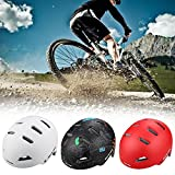 Sue Supply BMX Bike Skate Helm Fahrradhelm Mountainbike-Helm Shield Fahrrad Helm Erwachsene Road Fahrrad Sicherheit Helm Zum Radfahren Klettern Skaten Rollerfahren