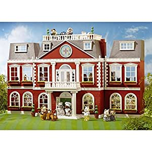 Sylvanian Regency Hotel with 6 Figures and 170 Accessories