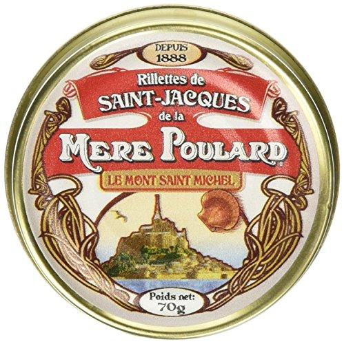 Biscuiterie Mère Poulard Rillettes de Saint Jacques 70 g