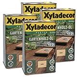 Xyladecor Gartenholz-Öl Natur farblos 10l - Holzöl Holzschutzöl