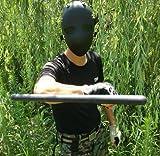 antiriot Full Schutz Sicherheit Schlagfestigkeit Face Maske Airsoft paintbal BB Gun Anti Riot, schwarz