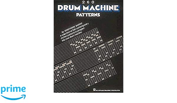 Buy 260 drum machine patterns book online at low prices in india buy 260 drum machine patterns book online at low prices in india 260 drum machine patterns reviews ratings amazon fandeluxe