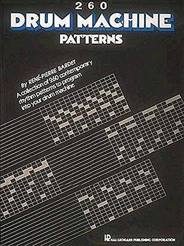 260 Drum Machine Patterns (Akustik Drum)