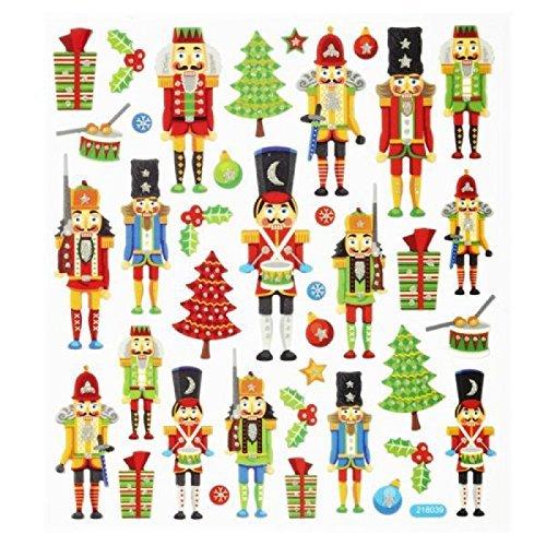Hobby Design Sticker * Weihnachten V Nussknacker * Aufkleber
