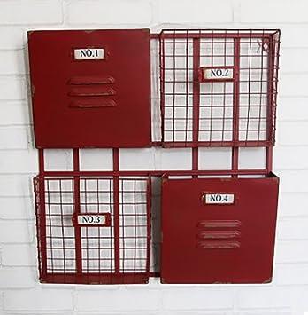 Zeitungsständer Modern kreativ vintage grid zeitungshalter für die wand bar zeitungsständer