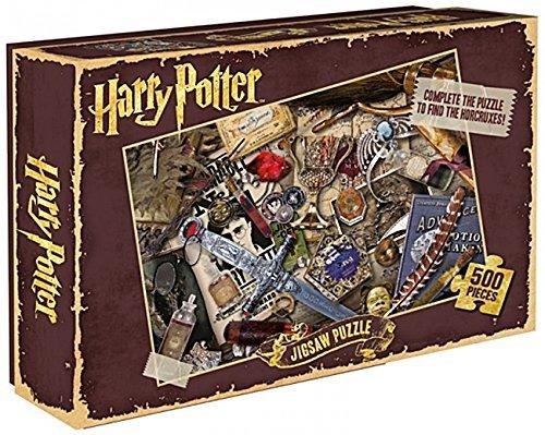 HARRY POTTER - Puzzle Rompecabezas Color horrocruxes